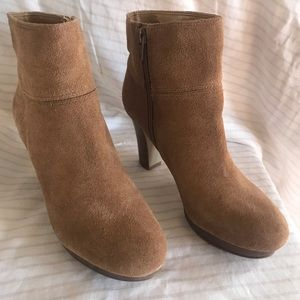 NWOT Nine West Suede Ankle Boots